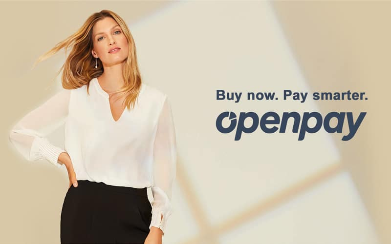 Buy now. Pay smarter. Openpay