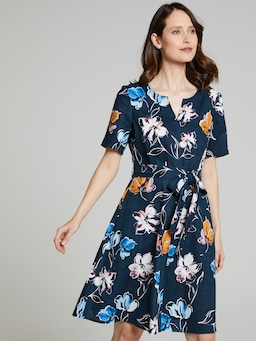 Louisa Linen Dress