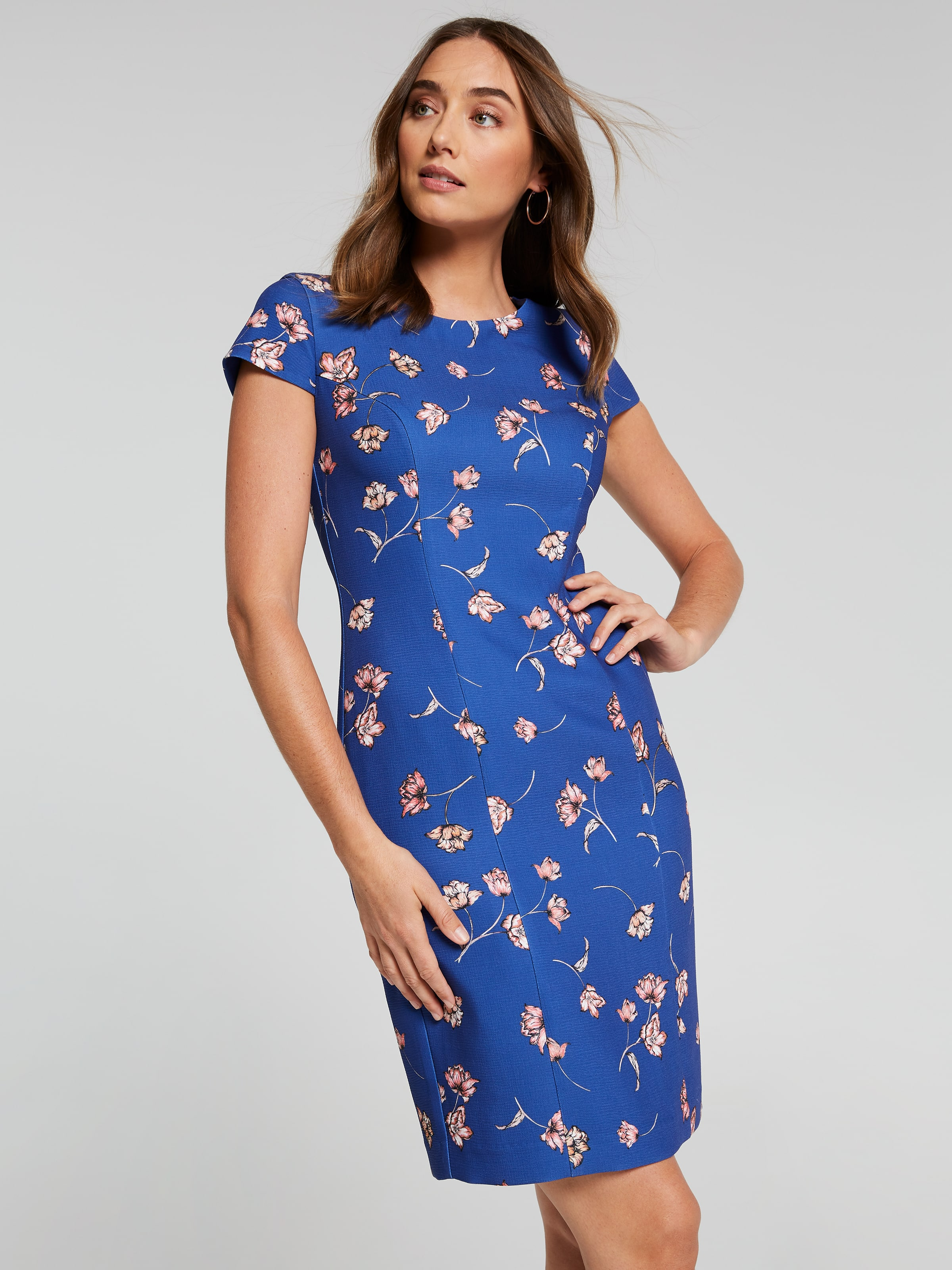 Image of Jacqui E Australia Jacqui E Eve Textured Shift Dress