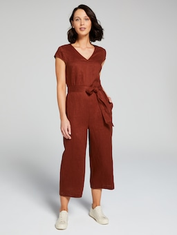 Whitney Linen Jumpsuit