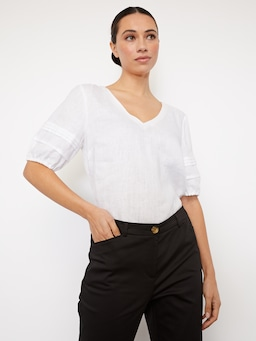 Ally Crop Sateen Pant