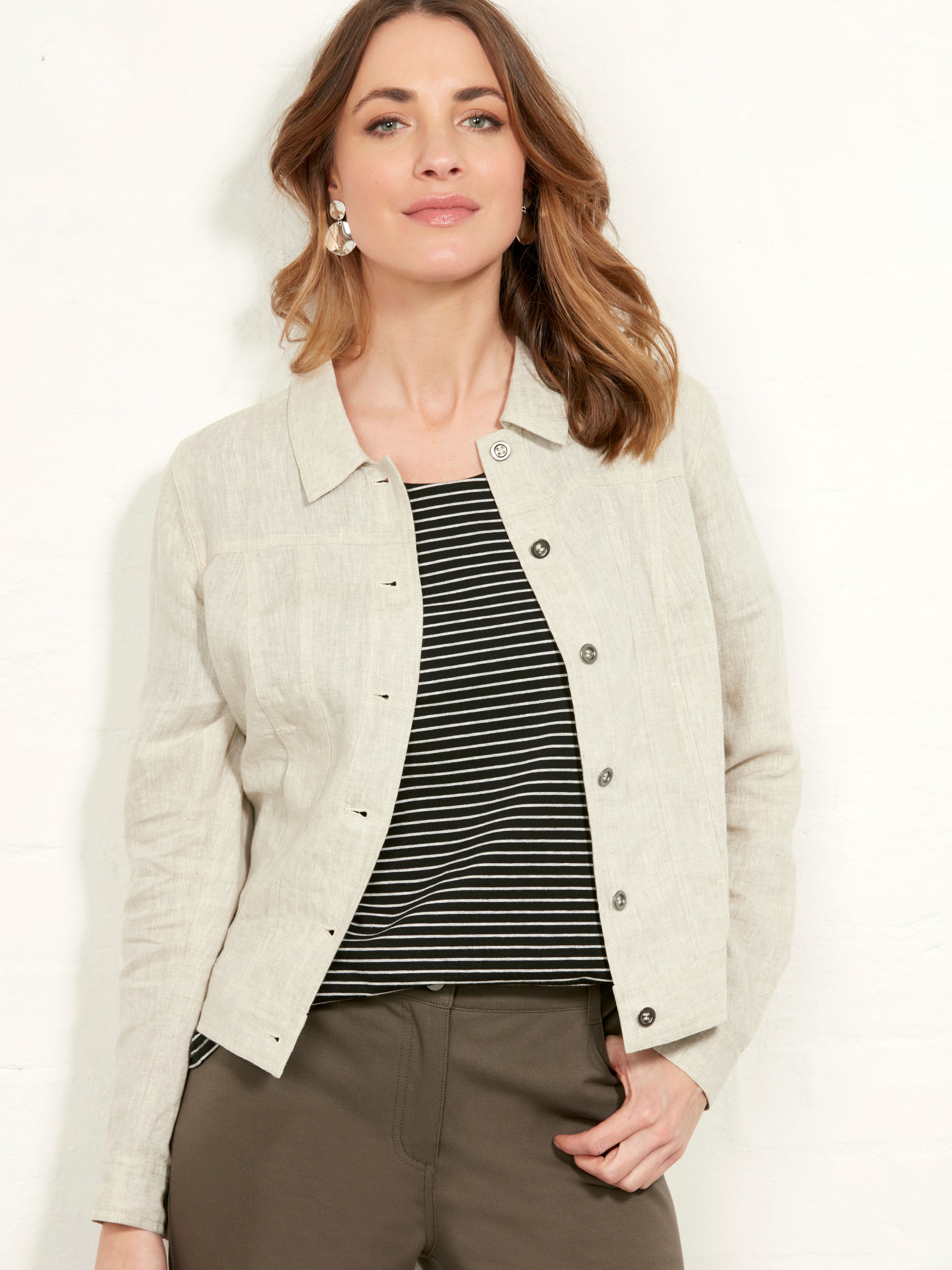 Image result for Nadia Linen Jacket