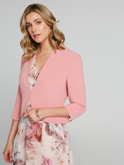 Peplum Crop Jacket