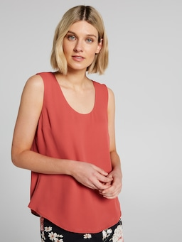 Scoop Neck Layer Blouse