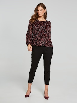 Kylie Pleat Blouse