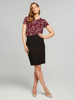 Modern Pencil Suit Skirt