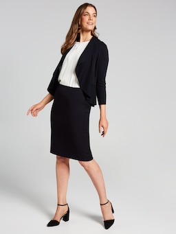 Midnight Suit Skirt