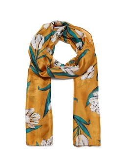 French Tulip Silk Scarf