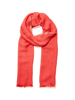Lurex Trim Solid Scarf