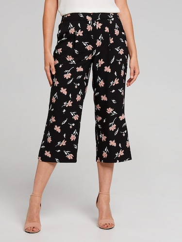 Floating Flower Culotte Pant