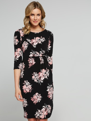 Carrie Twist Shift Dress