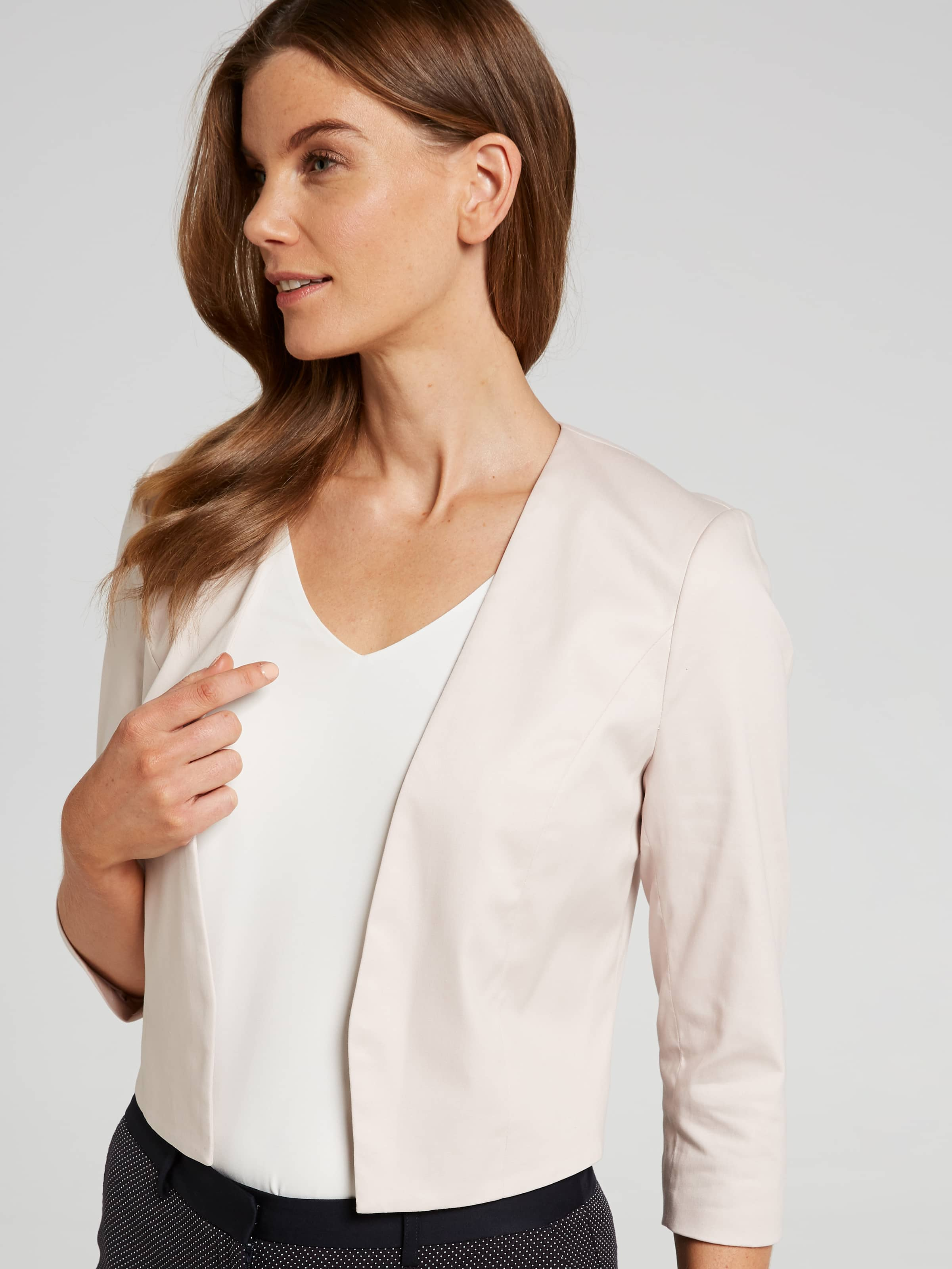 Sateen Crop Jacket