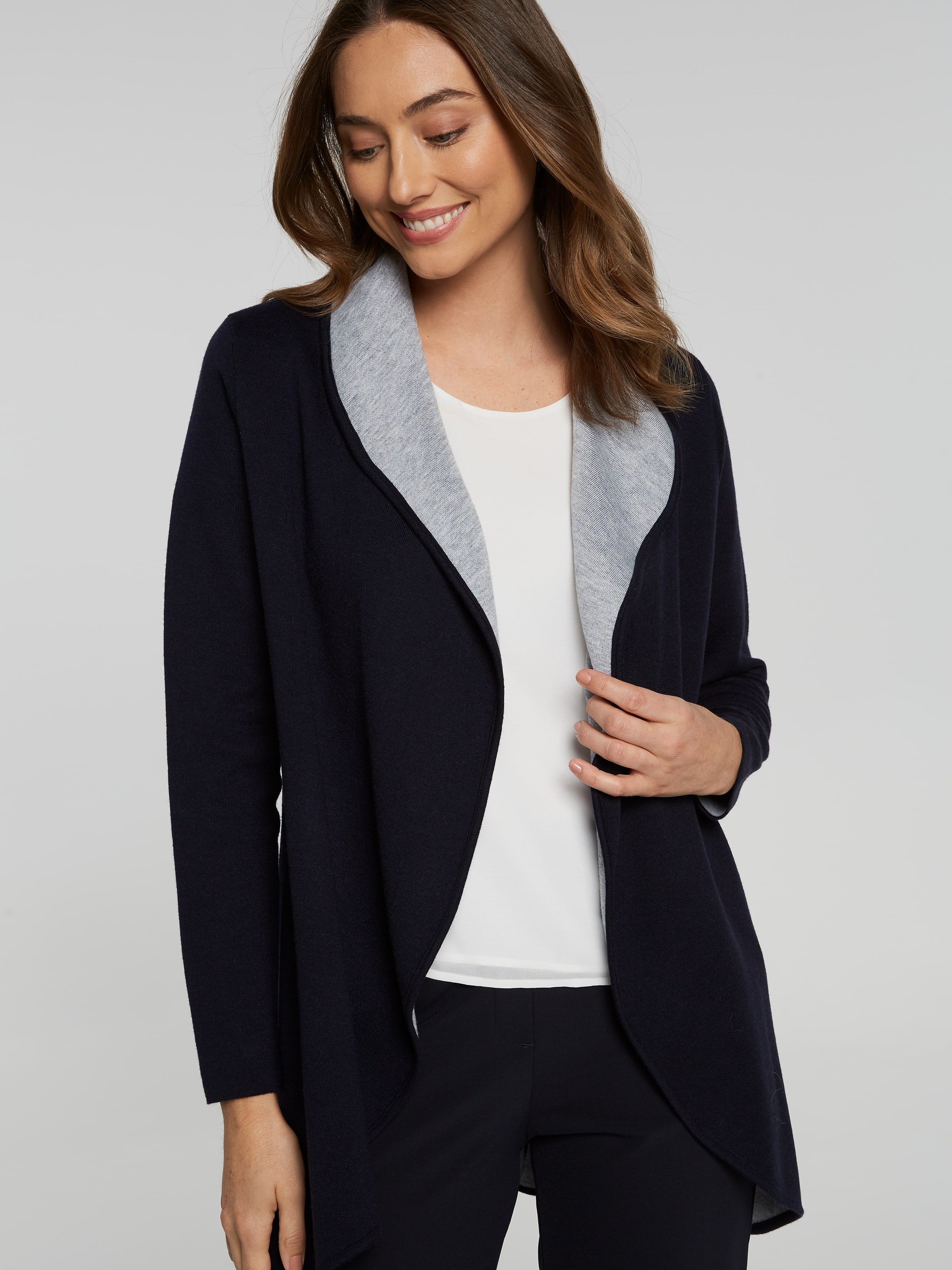 Shona Double Faced Cardi Coat