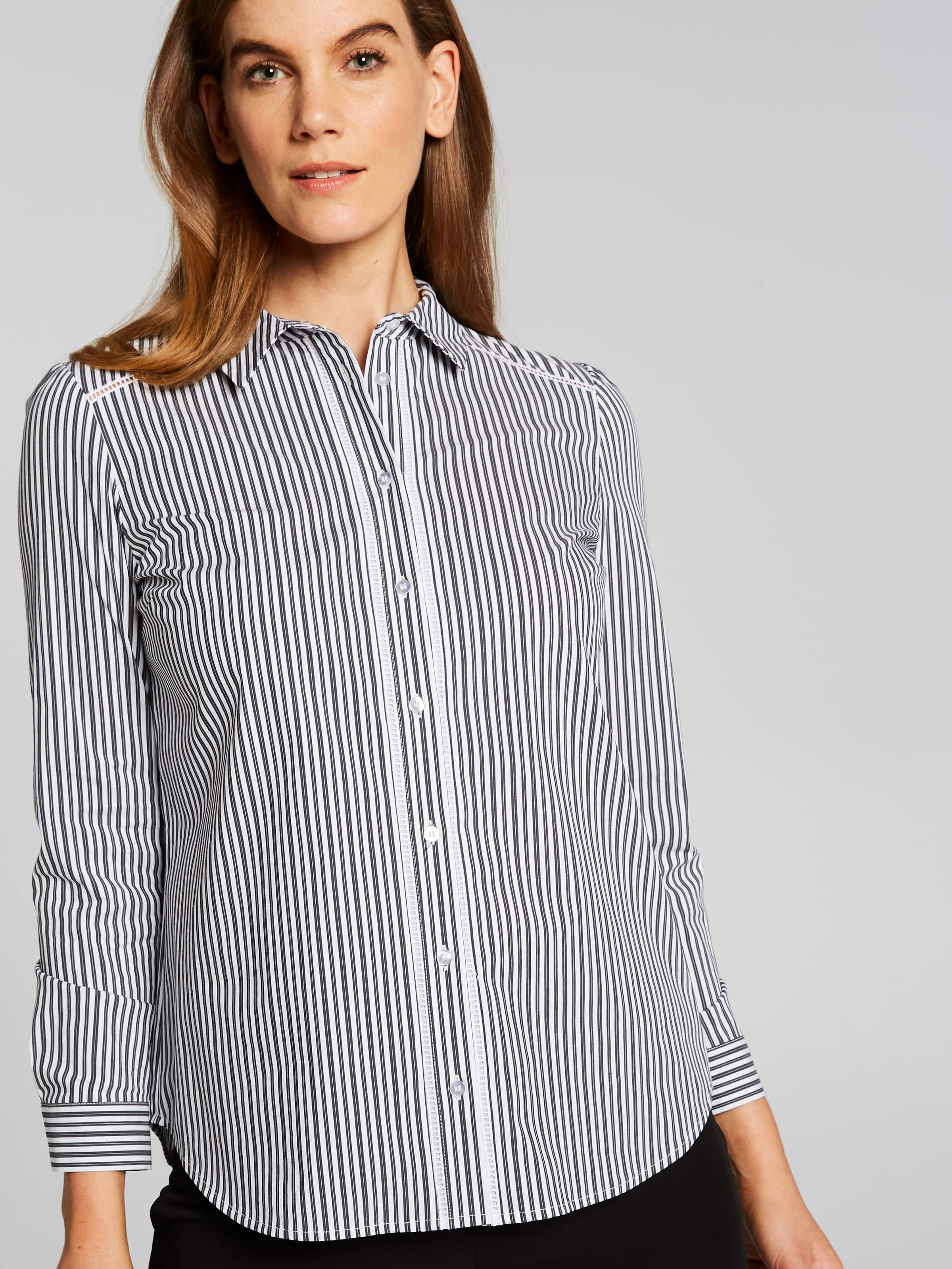 Long Sleeve Brea Collared Poplin Shirt
