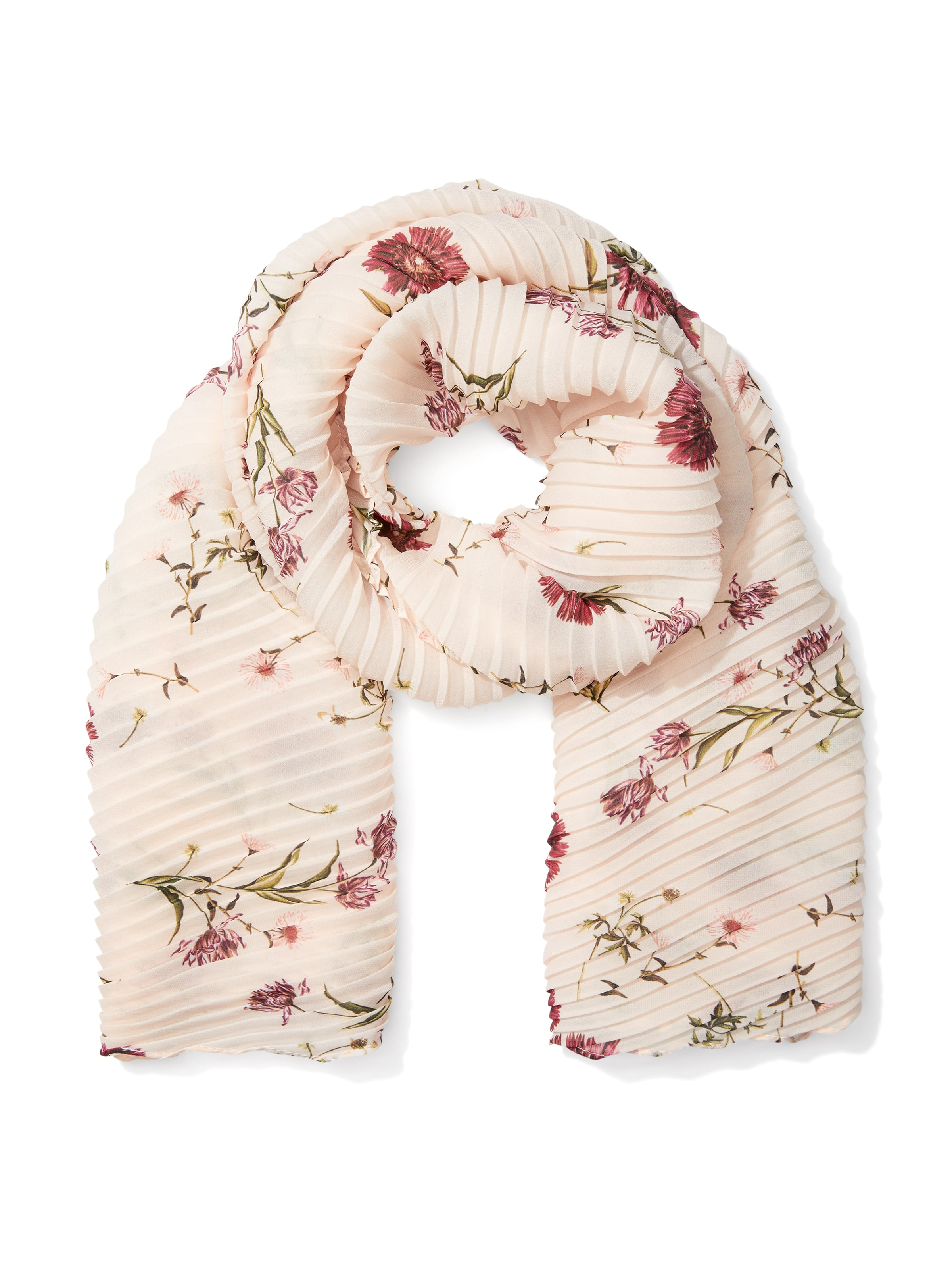 Garden Party Pleated Scarf